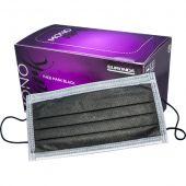 MASQUES CHIRURGICAUX NOIRS X50 PCS