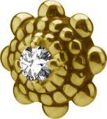 PVD GOLD ACCESSOIRE INTERNE (0.8MM) POUR 1.2MM